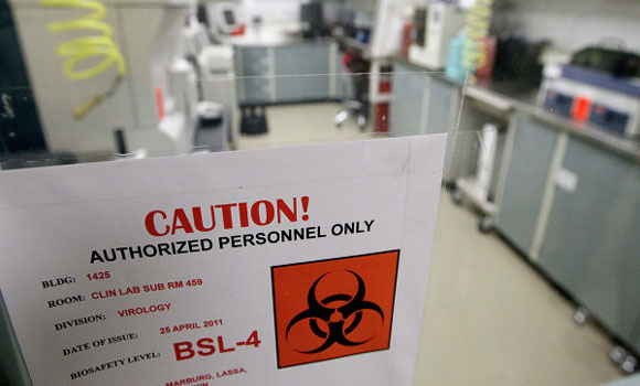 US Bio-warfare Laboratories In West Africa Are The Origins Of The Ebola Epidemic.